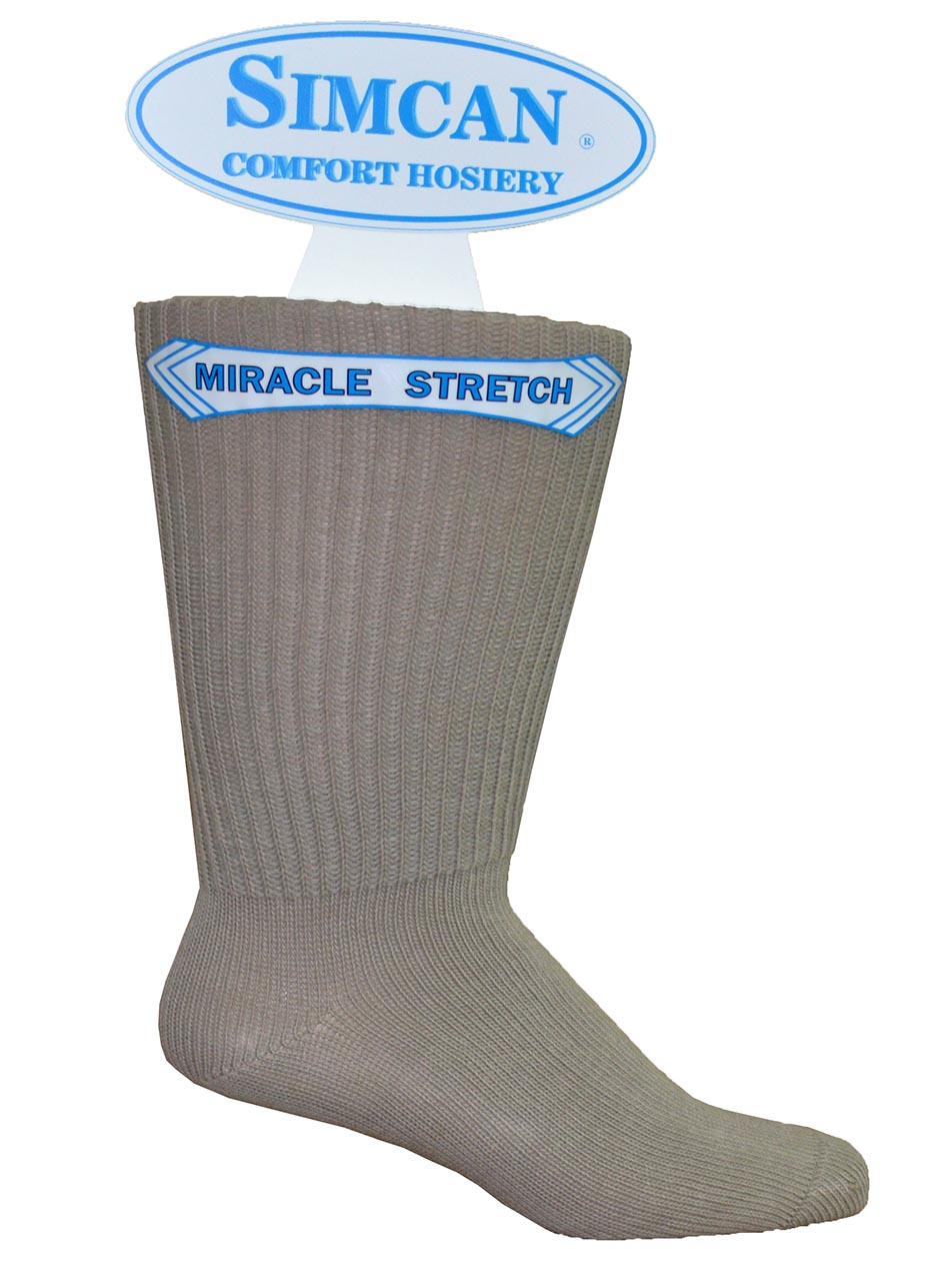 SIMCAN | Diabetic Socks  | Stretch foot form